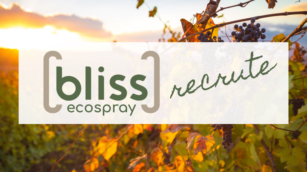 Bliss Ecospray recrutement